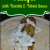 #MeatlessMonday:  Baked Falafel with Tzatziki & Tahini Sauce