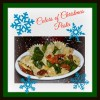 Meatless Monday: Colors of Christmas Pasta