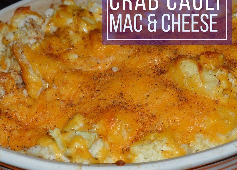 Crab Cauli Mac and Cheese