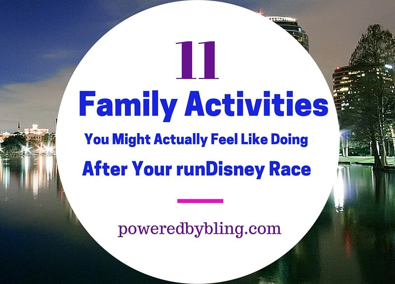 Family Activities runDisney