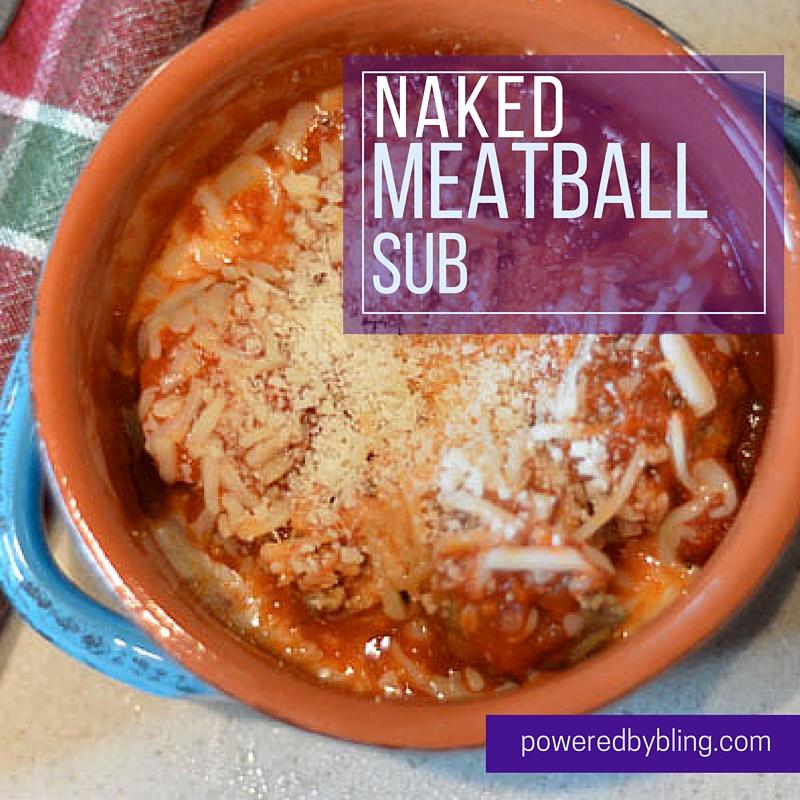 Naked Meatball Sub