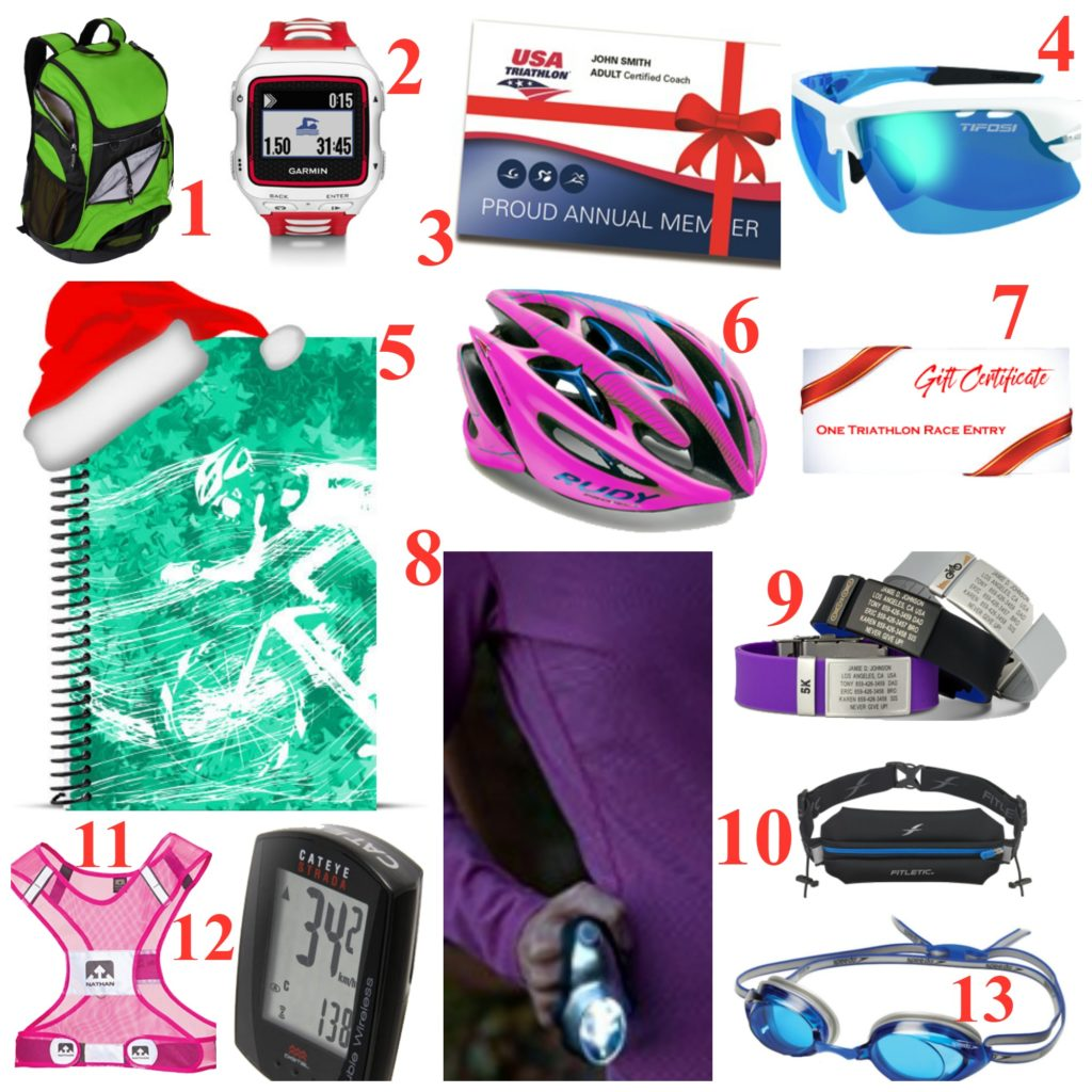 2016 Holiday Gift Guide for Triathletes