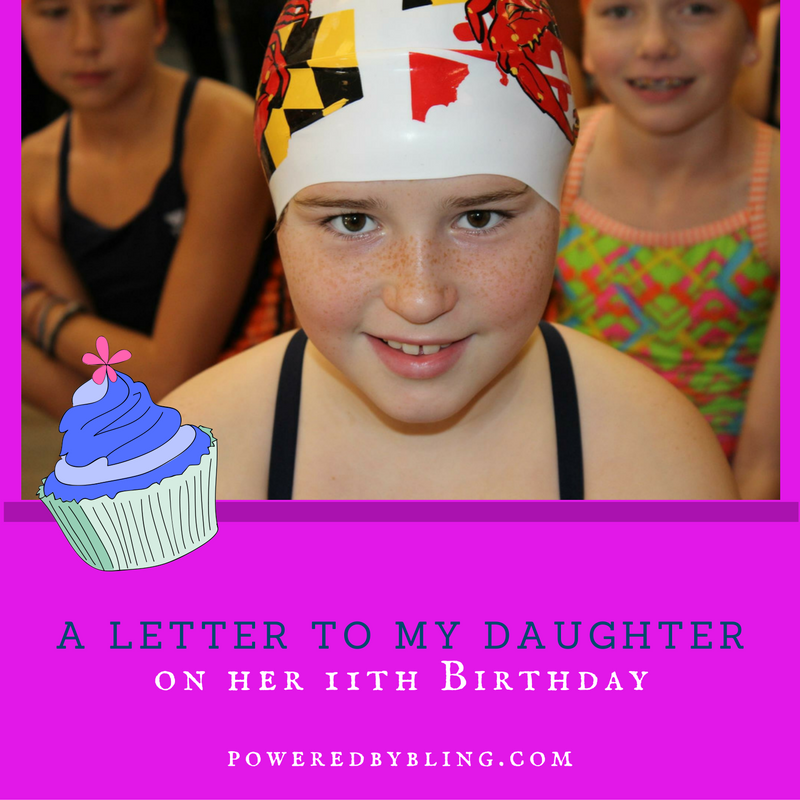 a letter to my daughter on her 11th birthday